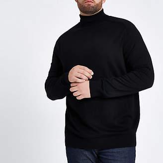 e1f66c87099 River Island Black Knitwear For Men - ShopStyle UK