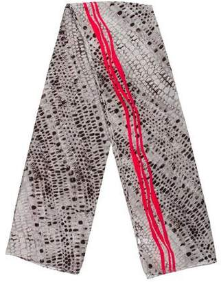 Calvin Klein Abstract Printed Scarf