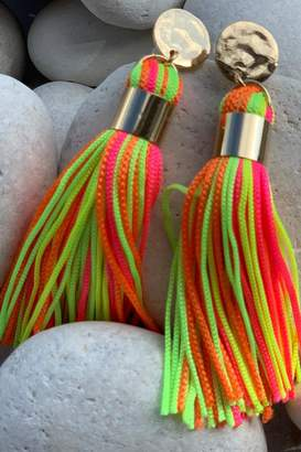 Chynna Dolls Short Tassel Earings