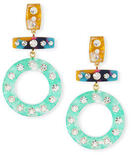 BaubleBar Gigi Drop Earrings w/ Crystals