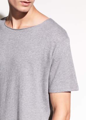 Raw Edge Pima Cotton T-shirt