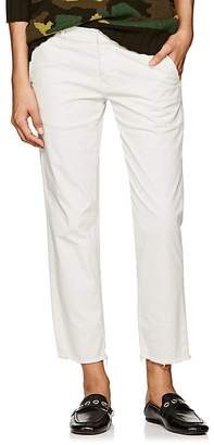 Nili Lotan Women's Hampton Cotton Crop Trousers
