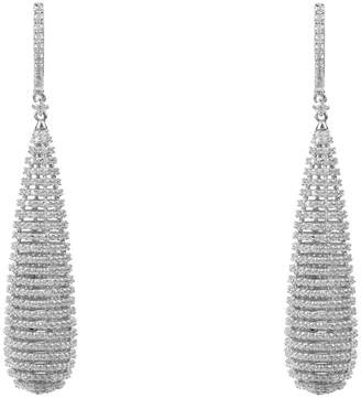 Athena Latelita Spiral Earrings Silver