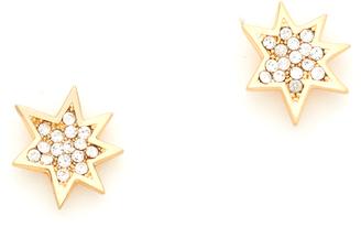Rebecca Minkoff Pow Stud Earrings $28 thestylecure.com