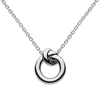Kit Heath Sterling Silver Amity Knot Necklace of Length 45.7 cm