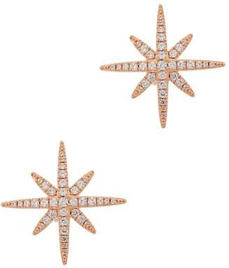 Apm Monaco APM Monaco Meteorites Rose Gold Tone Earrings