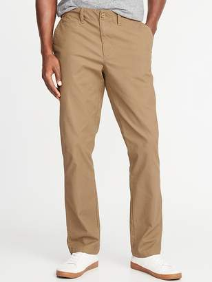 Old Navy Straight Lived-In Built-In Flex Khakis for Men