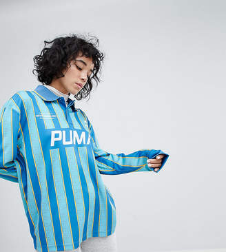 Puma Exclusive To ASOS Football Jersey In Blue