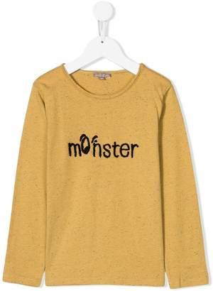 Emile et Ida 'Monster' print T-shirt