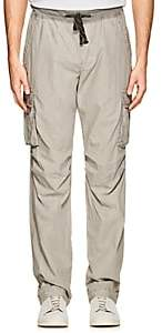James Perse MEN'S COTTON POPLIN CARGO PANTS-GRAY SIZE 1