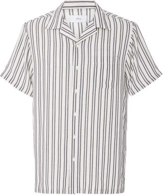Onia Tulum Striped Voile Shirt