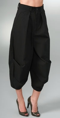 Marc by Marc Jacobs Brushed Twill Cropped Pant