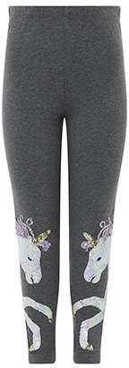 Monsoon Unicorn Sequin Legging