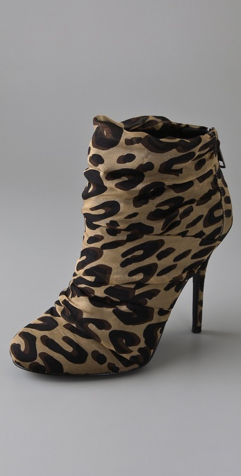 Elizabeth And James Rinna Draped Chiffon Booties