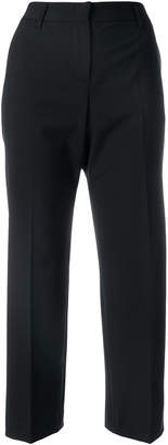 Tonello cropped straight-leg trousers