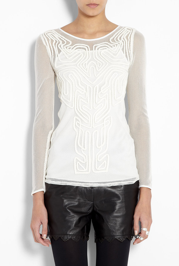 ALICE by Temperley White Tijuana Top