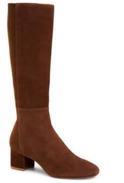 Aquatalia Jules Stretch-Suede Boots