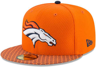 New Era Boys' Denver Broncos Sideline 59FIFTY Fitted Cap