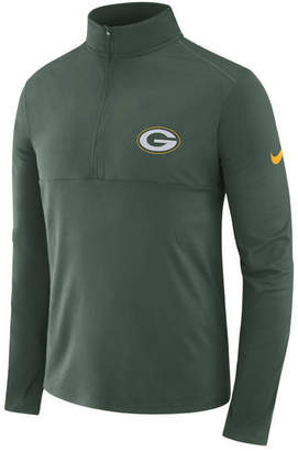 Nike Men's Green Bay Packers Core Modern Quarter-Zip Pullover