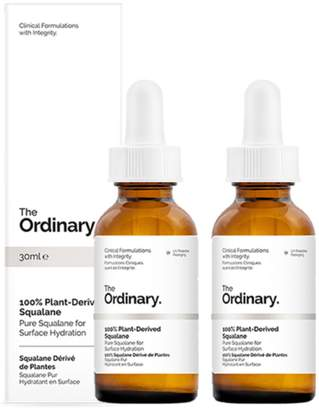 The Ordinary NEW 100% Plant-Derived Squalane [Double Pack] 2 X 30ml Womens Skin