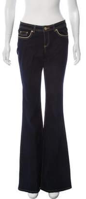 Rachel Zoe Mid-Rise Flared Jeans