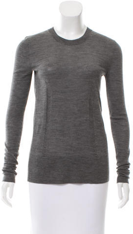 Vera Wang Vera Wang Wool Crew Neck Sweater
