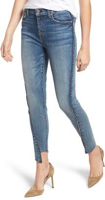 7 For All Mankind b(air) Zip Angle Seam Ankle Skinny Jeans