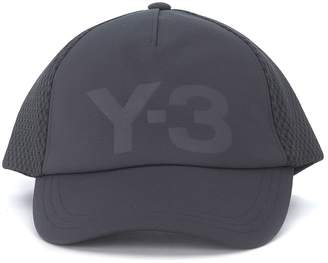 Y-3 Hat Trucker In Twill And Mesh