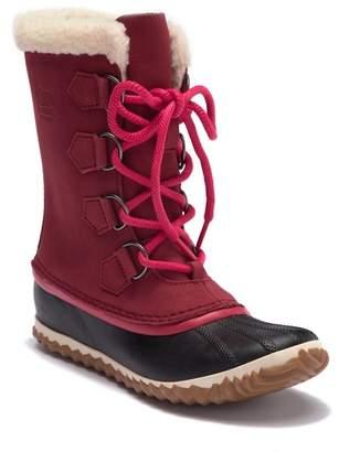 Sorel Caribou Slim Waterproof Faux Fur Boot