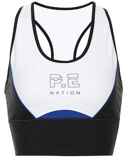 P.E Nation Acceleration crop top