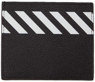 Off-White Black Diag Card Holder