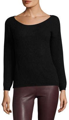 Armani Exchange Cut-Out Back Sweater