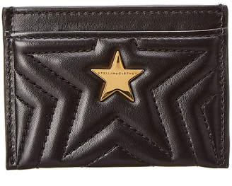 Stella McCartney Quilted Star Card Holder