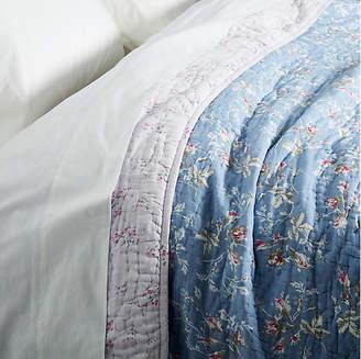 Leila Queen Quilt - Floral Blue - Rachel Ashwell