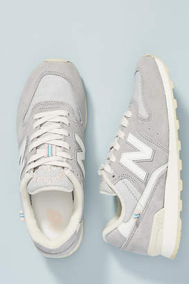 New Balance Grey 696 Sneakers