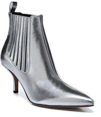 Diane von Furstenberg Mollo Pointed Metallic Booties