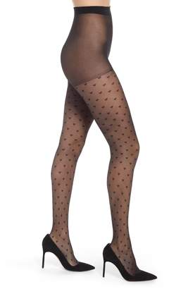 84974896e Pretty Polly Diamond Heart Tights