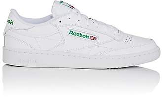 Reebok Men's Club C 85 Leather Low-Top Sneakers - White