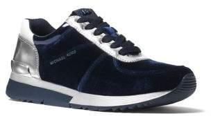 MICHAEL Michael Kors Allie Trainer Velvet Sneakers