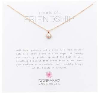 Dogeared Pearls of Friendship 5mm Pearl Pendant Necklace