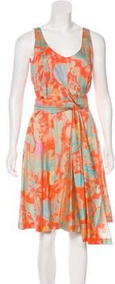 Cacharel Printed Sleeveless Dress