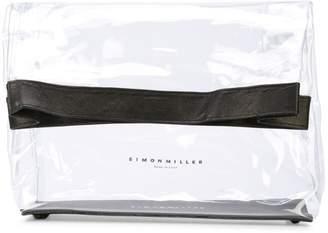 Simon Miller sheer clutch bag