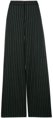 Alexander McQueen pinstripe palazzo trousers