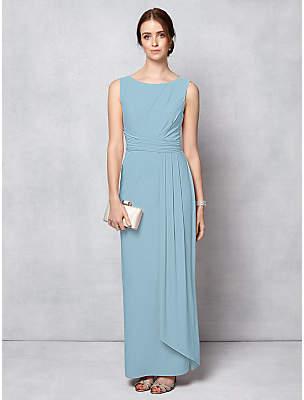 Phase Eight Bridal Cody Maxi Dress, Dusty Blue