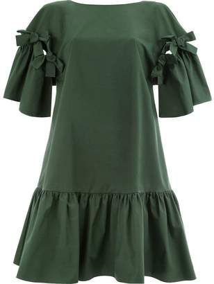 Fendi midi ruffled dress
