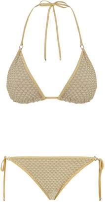 Missoni Mare Metallic Bikini Set