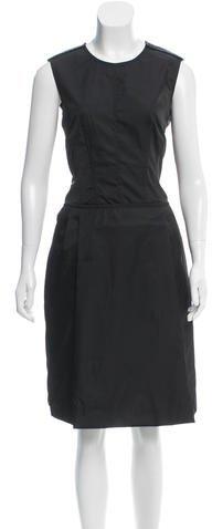 pradaPrada Sleeveless Midi Dress