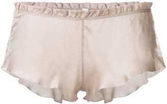 Carine Gilson lace flottant boxer shorts