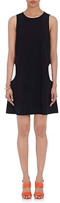 Lisa Perry Women's Circular-Pocket Shift Dress - White