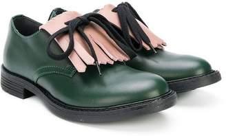 Marni (マルニ) - Marni Kids fringed bow shoes